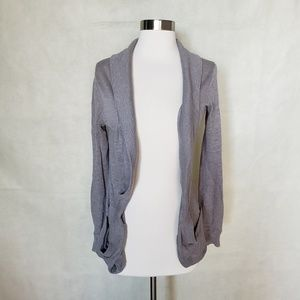🌼{ urban outfitters } grey open shawl cardigan